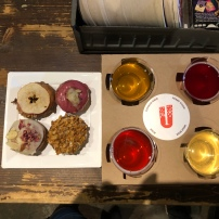 Urban Tree Cider and Doughnut Dollies pairing